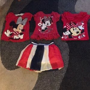 MINNIE MOUSE TODDLER GIRL CLOTHING
